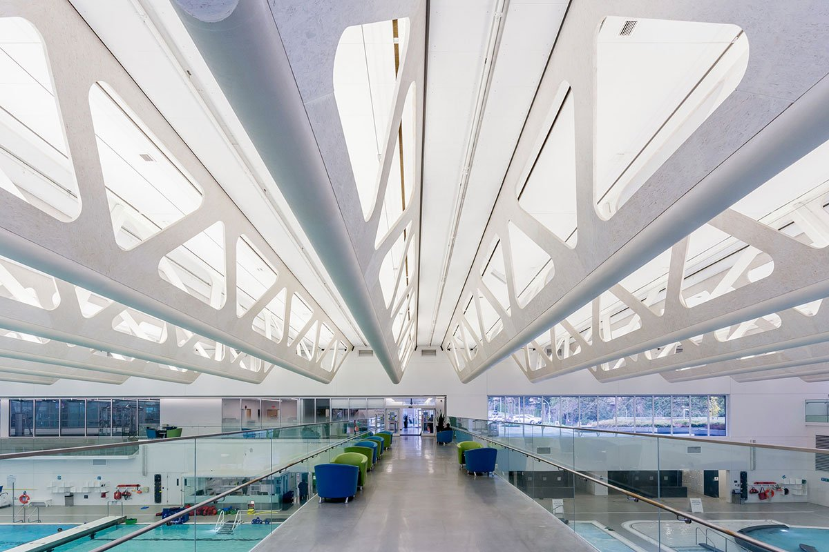 Guildford Aquatic Centre Aspect Structural Engineers